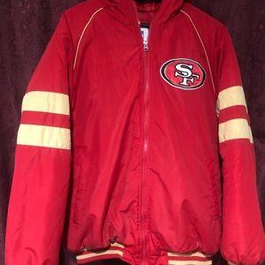 New NFL SF 49ers niners Varsity Jacket